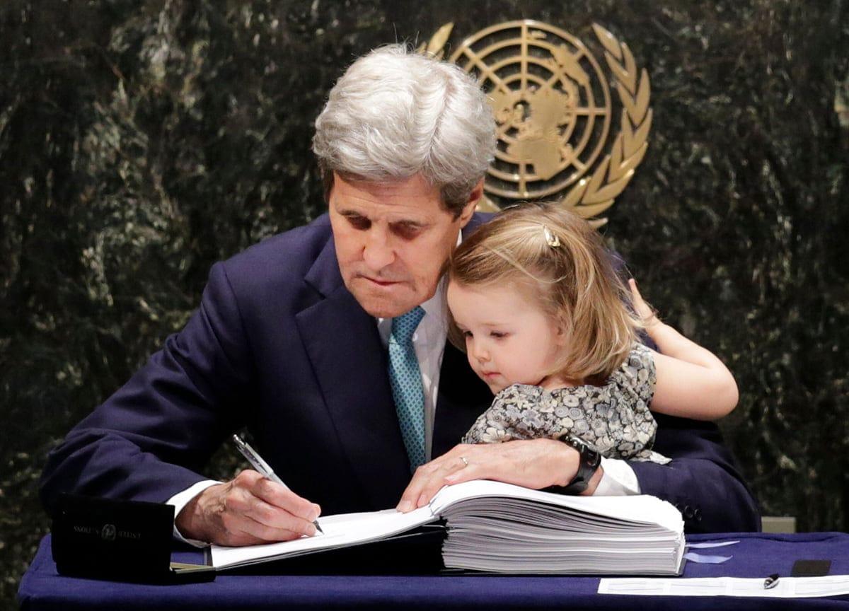 Kerry-ONU-Cambio climático