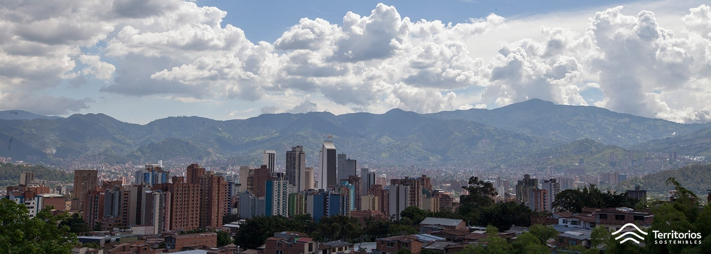 Medellín-aire-Colombia