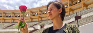 Andrea Padilla defensora de los animales