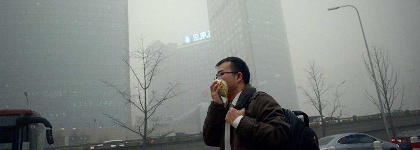 La contaminación del aire es un problema global