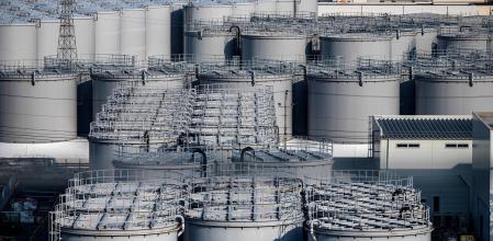 tanques de almacenamiento de agua radiactiva
