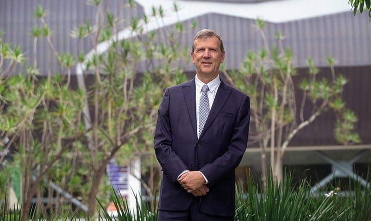 Juan Luis Mejía convirtió a Eafit en una universidad-parque