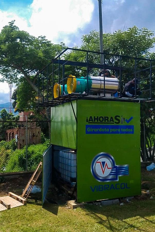 Planta Girardota, aire
