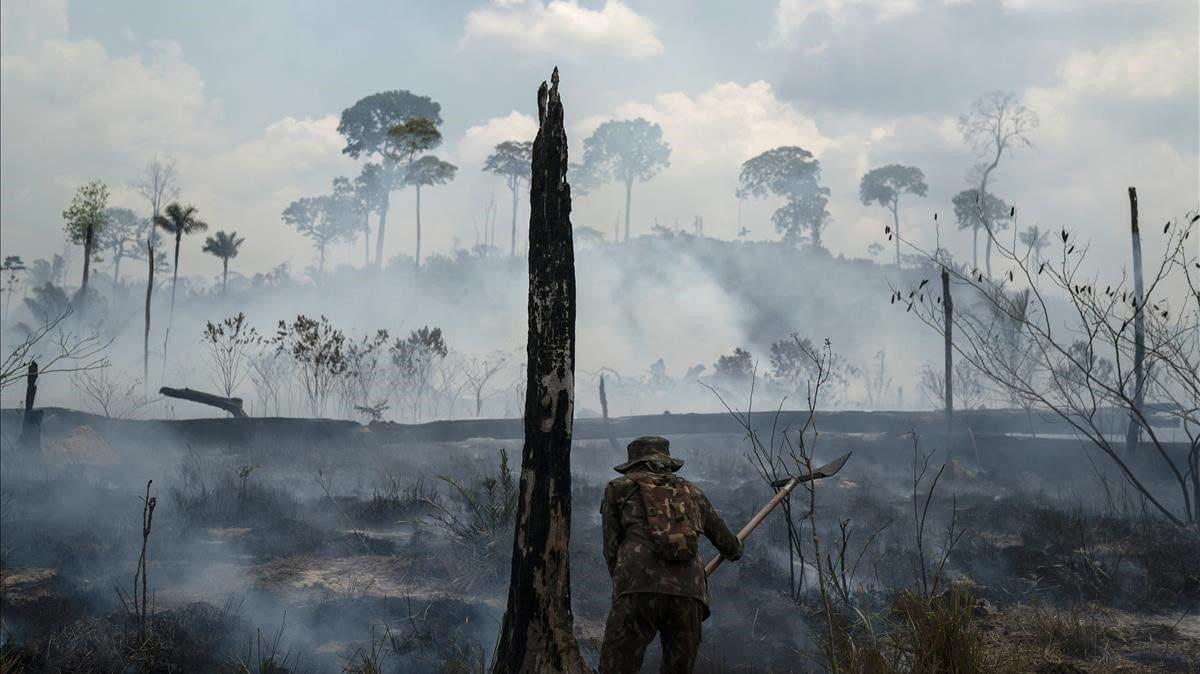 crisis climática pasa por el uso de combustibles fósiles