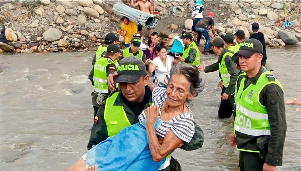Desplazamiento, Venezuela