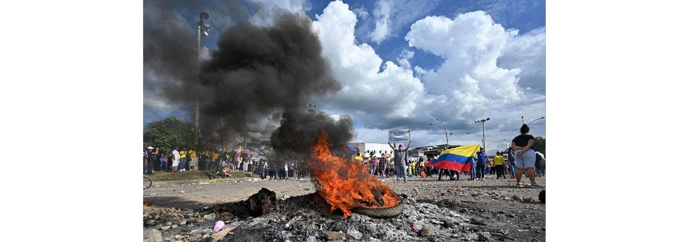 protestas sociales en Colombia