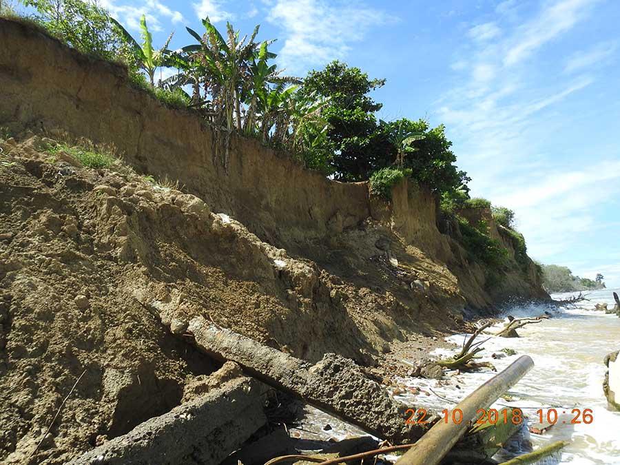 Procesos erosivos en las costas del Golfo de Urabá