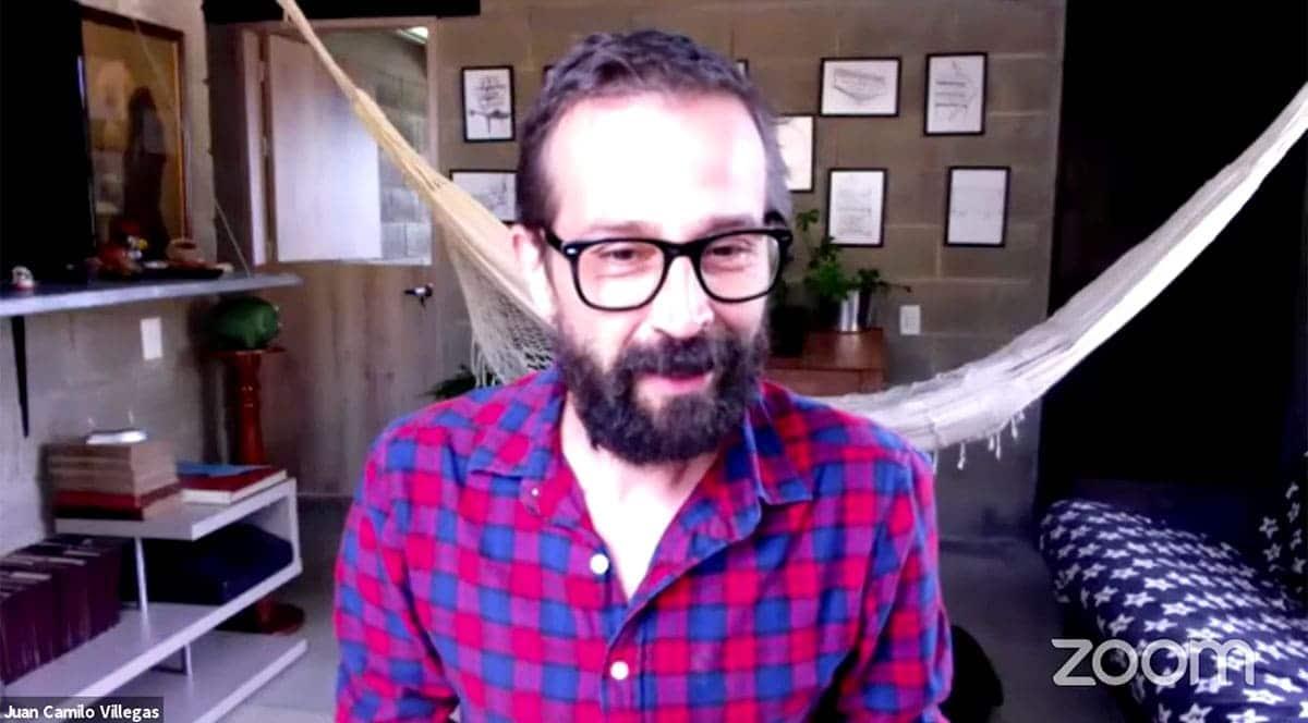 Juan Camilo Villegas Palacio, profesor asociado de la Escuela Ambiental de la UdeA.