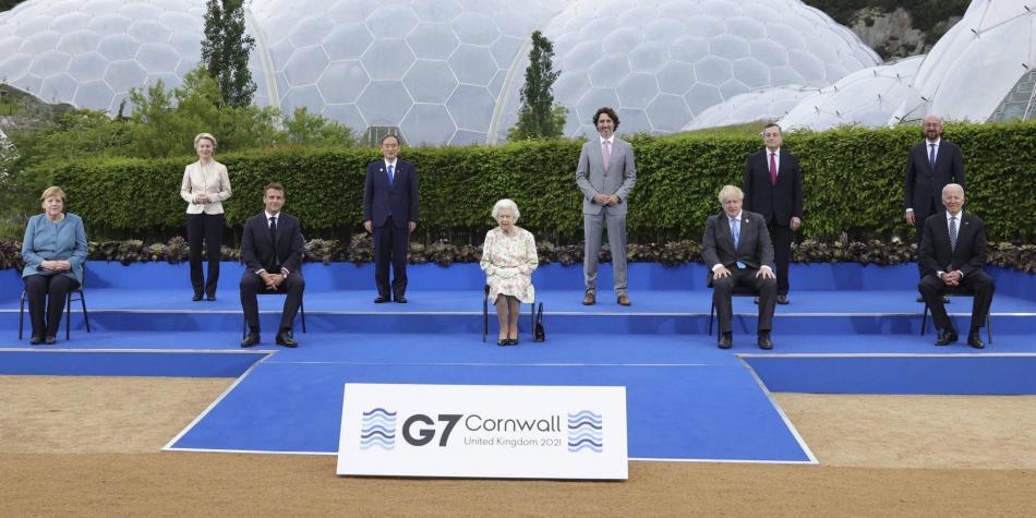 Cumbre del G7, Reino Unido
