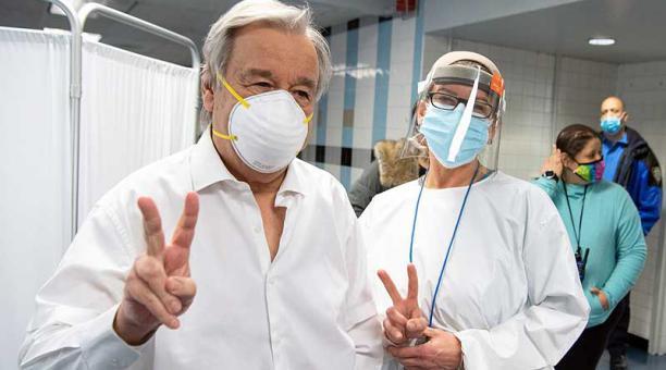 António Guterres, vacunas, ONU