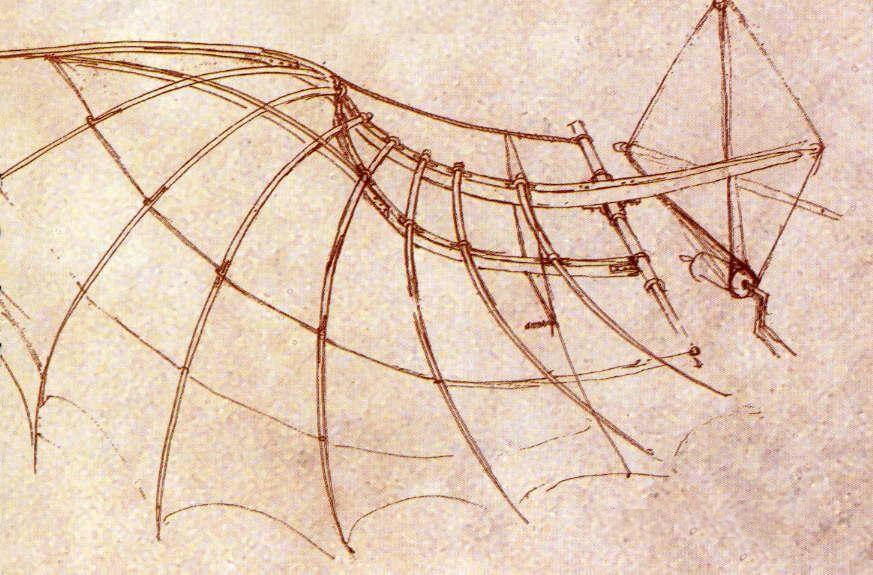 Boceto para una máquina voladora