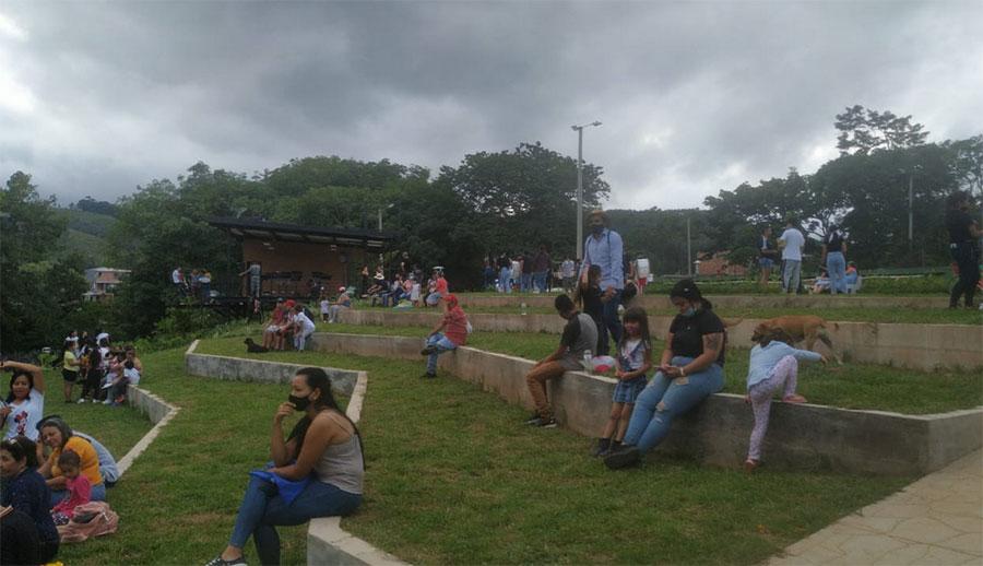estos parques lineales en municipios, Colombia