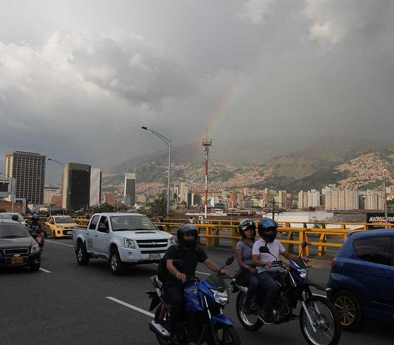 Movilidad sostenibles, Colombia
