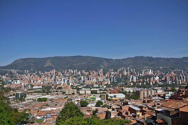 Medellín y su Valle de Aburrá