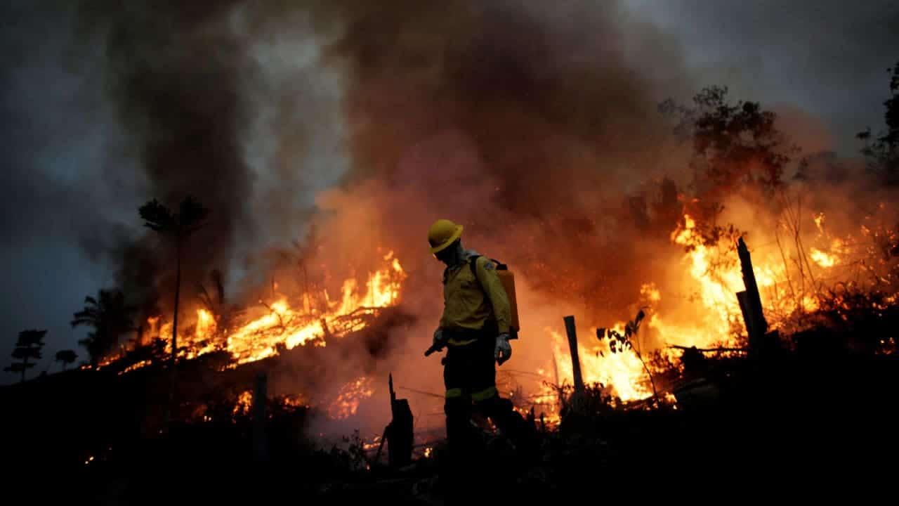 Incendios, Amazonia brasileña