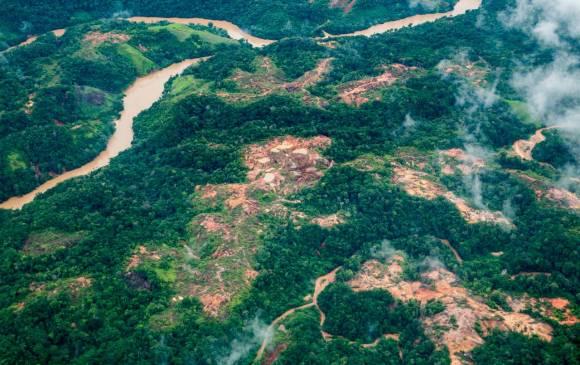 explotación ilícita de minerales, Antioquia