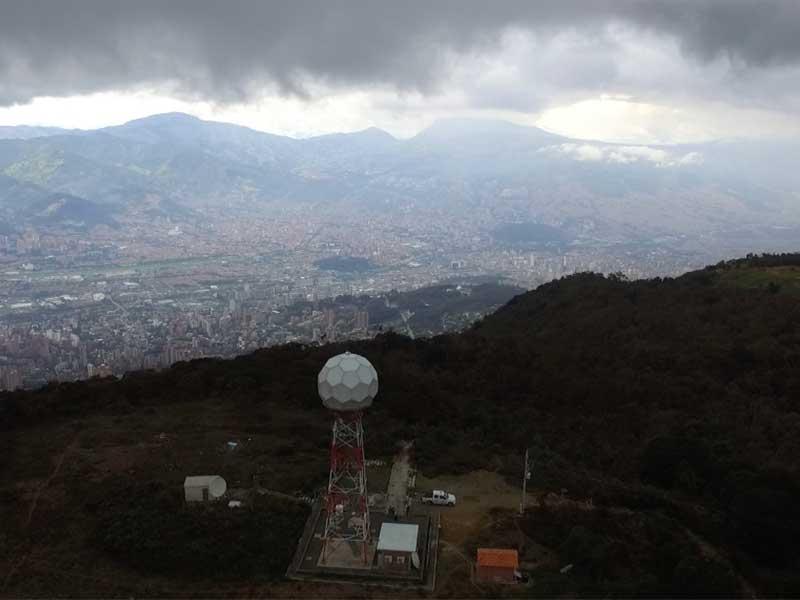 red de monitoreo, Valle de Aburrá