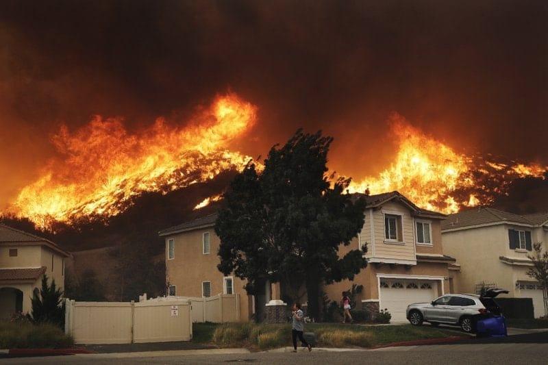 incendios, California