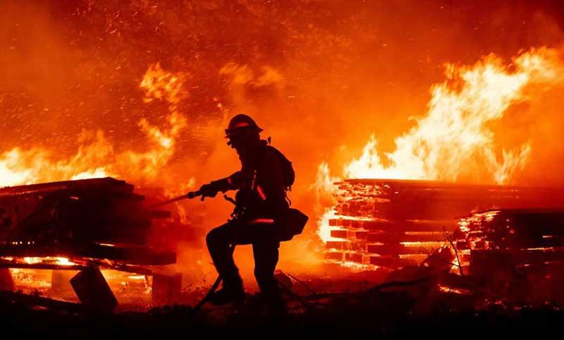 incendios en los Estados Unidos