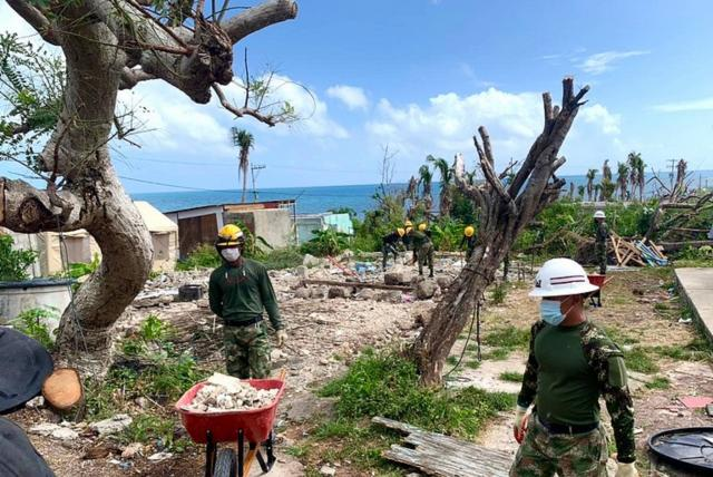 reconstrucción en Providencia