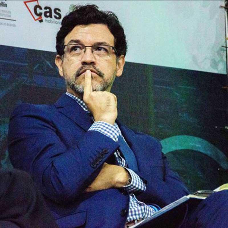 Elkin Velásquez, director de ONU-Hábitat para América Latina