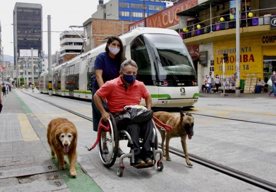 movilidad eléctrica, tranvía Medellín