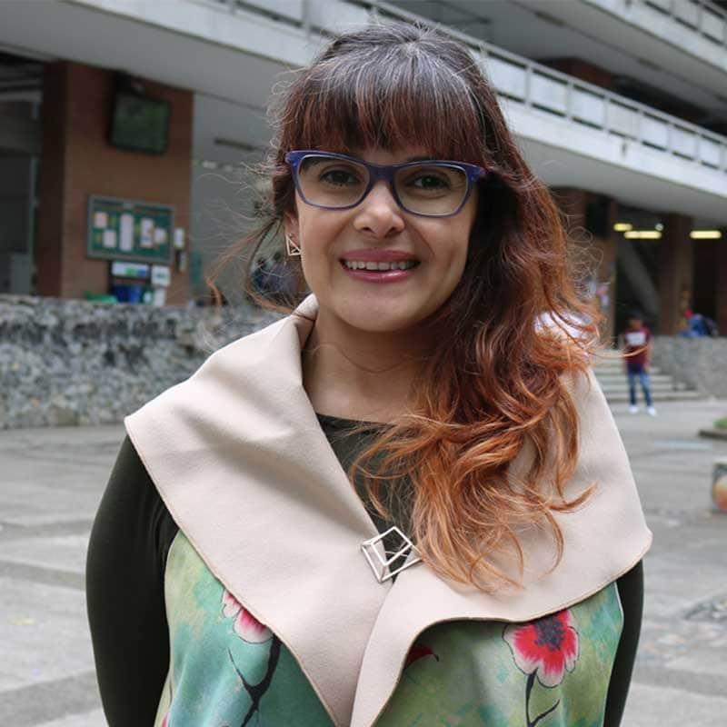 Paola Andrea Arias, científica colombiana y profesora de la U. de A