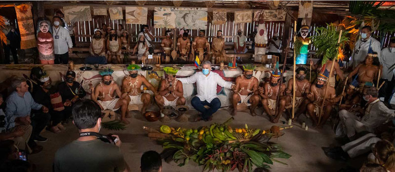 Presidente Iván Duque, COP 15