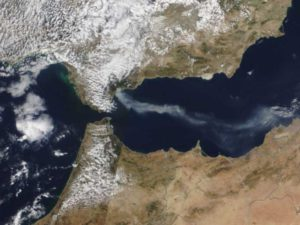 Cambio climático, incendios