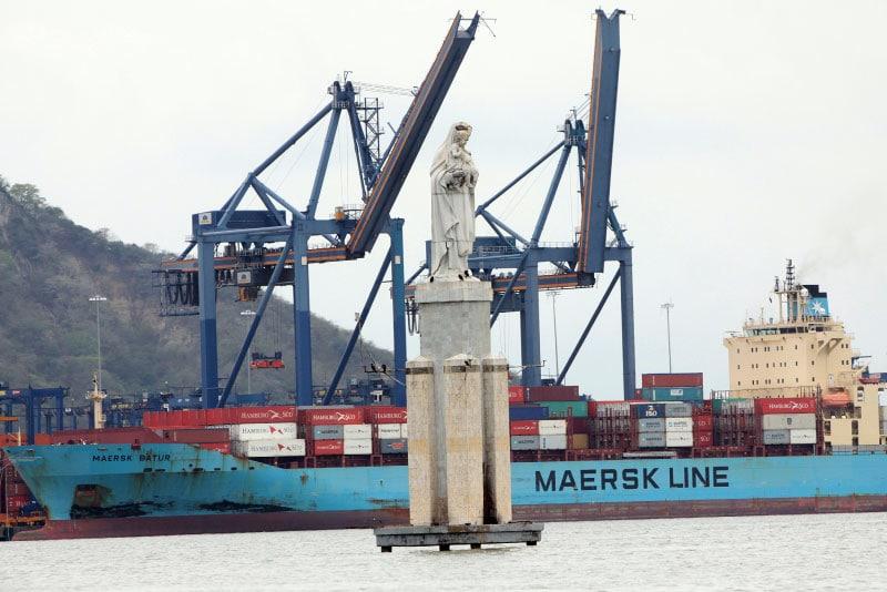 Colombia, puertos en dos mares