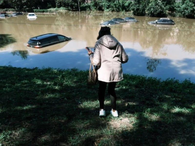 estragos del huracán Ida