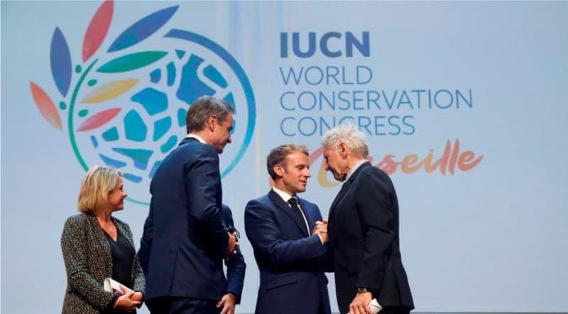 Presidente de Francia, Emmanuel Macron,Cumbre Mundial de la Naturaleza