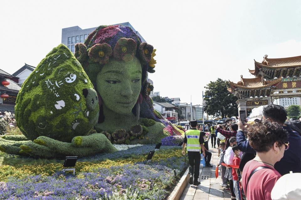 iudad sureña de Kunming, en China